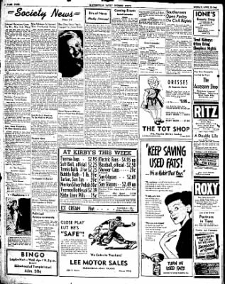 The Courier News from Blytheville, Arkansas on April 12, 1948 · Page 4