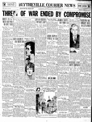 The Courier News from Blytheville, Arkansas on December 10, 1934 · Page 1