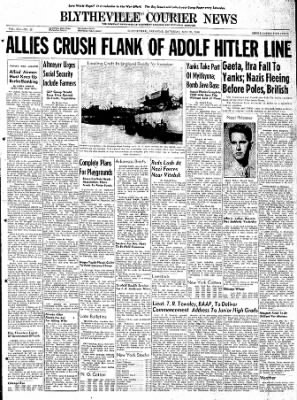 The Courier News from Blytheville, Arkansas on May 20, 1944 · Page 1