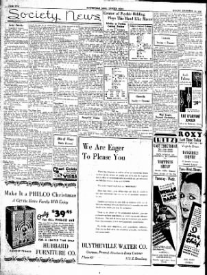 The Courier News from Blytheville, Arkansas on December 10, 1934 · Page 2