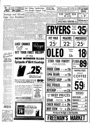 The Courier News from Blytheville, Arkansas on September 30, 1954 · Page 14