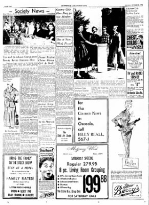 The Courier News from Blytheville, Arkansas on October 1, 1954 · Page 2
