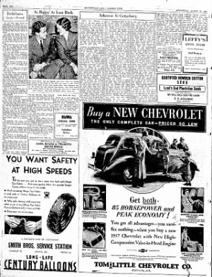 The Courier News from Blytheville, Arkansas on March 10, 1937 · Page 11