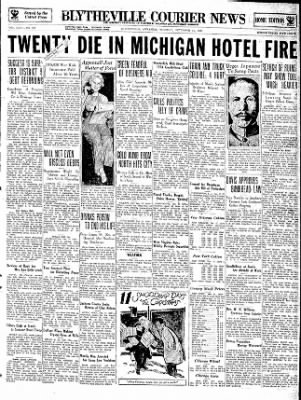 The Courier News from Blytheville, Arkansas on December 11, 1934 · Page 1