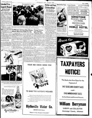The Courier News from Blytheville, Arkansas on April 13, 1948 · Page 7