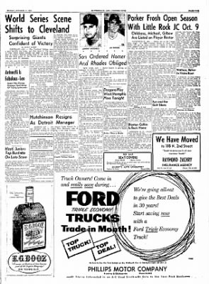 The Courier News from Blytheville, Arkansas on October 1, 1954 · Page 9