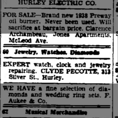 Ironwood Daily Globe, October 28,1939, page 1 -