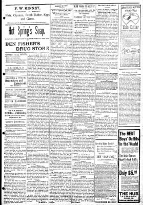 Logansport Pharos-Tribune from Logansport, Indiana on February 9, 1895 · Page 3