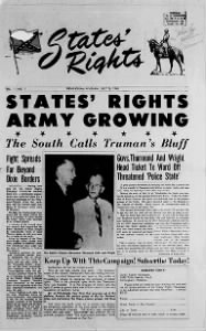 Sample States' Rights front page