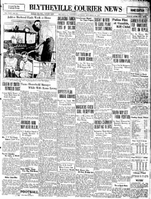 The Courier News from Blytheville, Arkansas on November 26, 1932 · Page 1