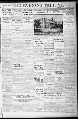 Des Moines Tribune from Des Moines, Iowa on July 7, 1909 · 1