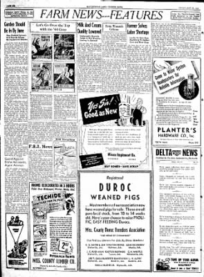 The Courier News from Blytheville, Arkansas on May 26, 1944 · Page 6