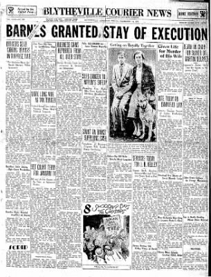 The Courier News from Blytheville, Arkansas on December 14, 1934 · Page 1