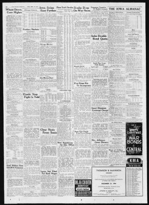 Des Moines Tribune from Des Moines, Iowa on December 20, 1944 · 12