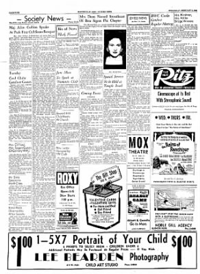 The Courier News from Blytheville, Arkansas on February 8, 1956 · Page 4