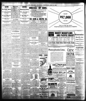 The Cincinnati Enquirer from Cincinnati, Ohio on June 11, 1902 · Page 12