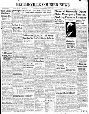 The Courier News from Blytheville, Arkansas on April 16, 1948 · Page 1