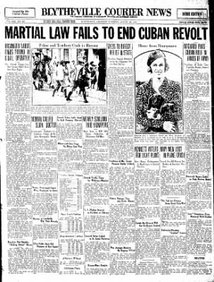 The Courier News from Blytheville, Arkansas on August 10, 1933 · Page 1