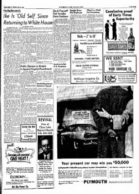 The Courier News from Blytheville, Arkansas on February 8, 1956 · Page 8