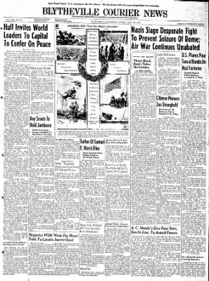 The Courier News from Blytheville, Arkansas on May 30, 1944 · Page 1