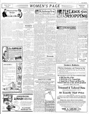 The Logansport Morning Press from Logansport, Indiana on November 22, 1921 · Page 3