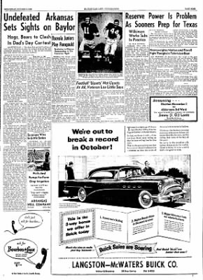 The Courier News from Blytheville, Arkansas on October 6, 1954 · Page 9
