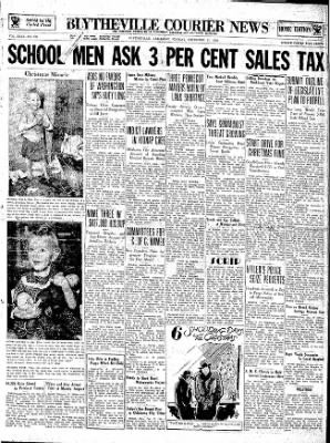 The Courier News from Blytheville, Arkansas on December 17, 1934 · Page 1