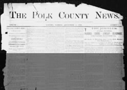 The Polk County News