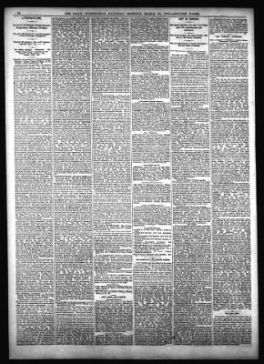 The Inter Ocean from Chicago, Illinois on March 24, 1877