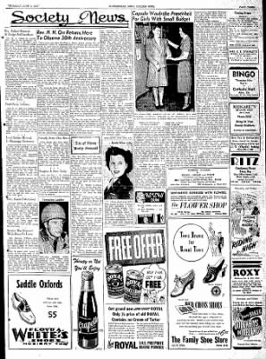 The Courier News from Blytheville, Arkansas on June 1, 1944 · Page 3