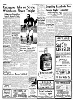The Courier News from Blytheville, Arkansas on October 8, 1954 · Page 10