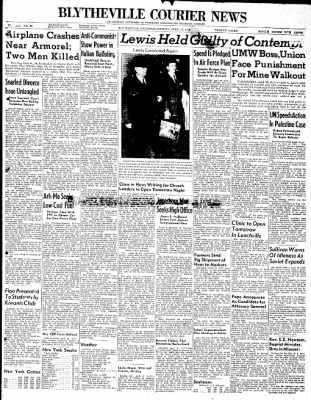 The Courier News from Blytheville, Arkansas on April 19, 1948 · Page 1