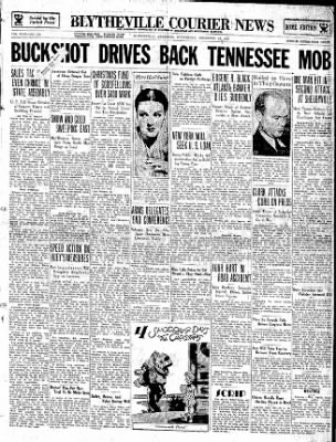 The Courier News from Blytheville, Arkansas on December 19, 1934 · Page 1