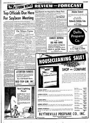 The Courier News from Blytheville, Arkansas on February 10, 1956 · Page 9
