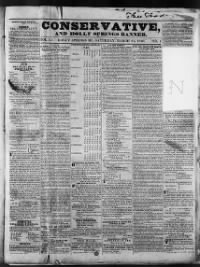 Sample Southern Banner front page