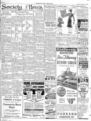 The Courier News from Blytheville, Arkansas on March 19, 1937 · Page 4