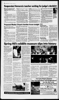 Tampa Bay Times from St  Petersburg, Florida on August 11, 1998 · 151