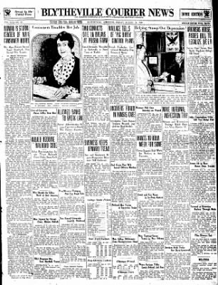 The Courier News from Blytheville, Arkansas on August 18, 1933 · Page 1
