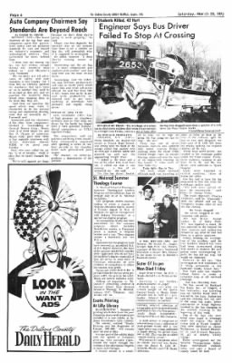 The Herald from Jasper, Indiana on March 25, 1972 · Page 8