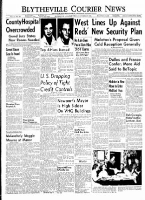 The Courier News from Blytheville, Arkansas on November 1, 1955 · Page 1