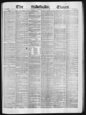 The Times from London,  on July 12, 1865 · Page 1