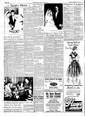 The Courier News from Blytheville, Arkansas on February 13, 1956 · Page 4