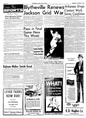The Courier News from Blytheville, Arkansas on November 1, 1955 · Page 8