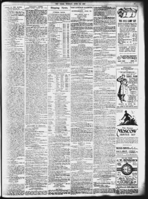 The Times from London, Greater London, England on June 12, 1916