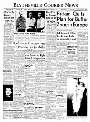 The Courier News from Blytheville, Arkansas on November 2, 1955 · Page 1