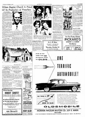 The Courier News from Blytheville, Arkansas on October 12, 1954 · Page 3
