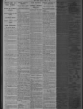 Articles in a British newspaper covering the first days of the Battle of the Somme in July 1916
