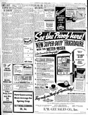 The Courier News from Blytheville, Arkansas on March 22, 1937 · Page 6