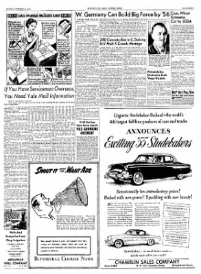 The Courier News from Blytheville, Arkansas on October 12, 1954 · Page 7