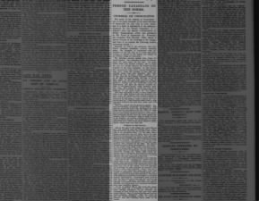 Newspaper account of French Canadians at the Battle of the Somme from October 1916